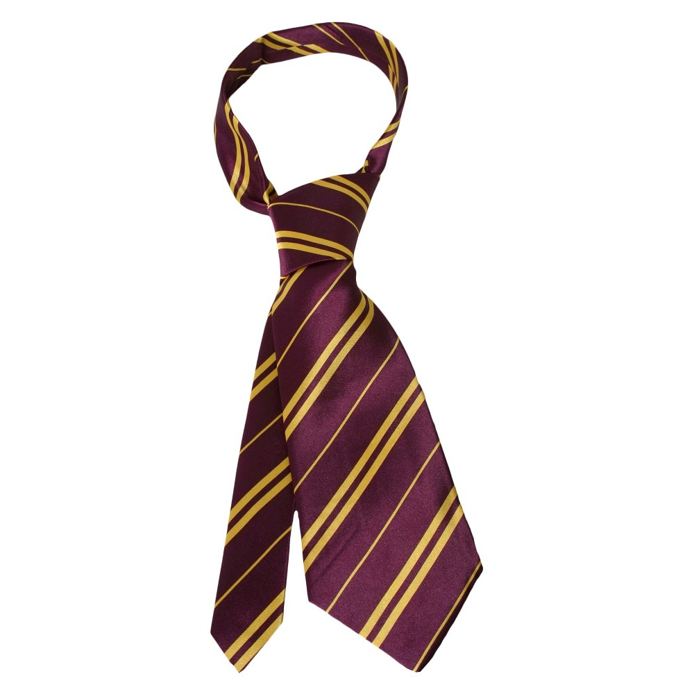 Halloween Harry Potter Gryffindor Tie Brown - One Size Fits Most, Men's