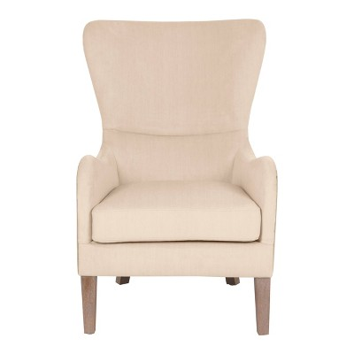 Olivet Two-Toned Wingback Chair - Finch