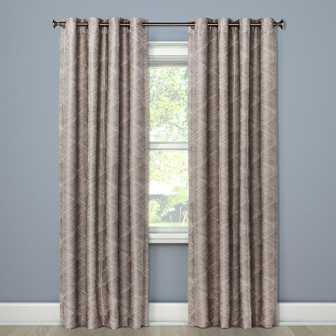 Blackout Curtain Panel Modern Stroke - Project 62™ - image 1 of 3