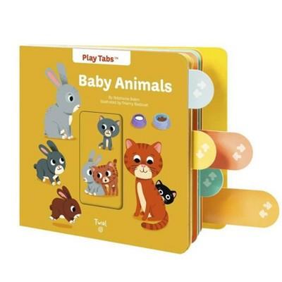 Baby Animals - (Playtabs)by Stephanie Babin (Board Book)
