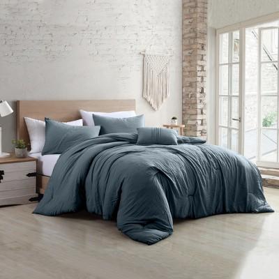 Modern Threads 4-Piece Garment-Washed Comforter Set.
