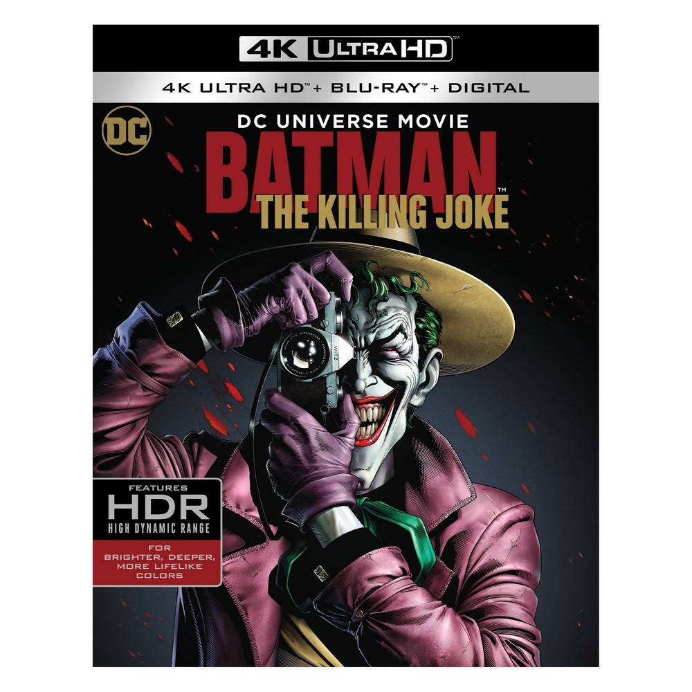 Batman The Killing Joke (4K/Uhd)