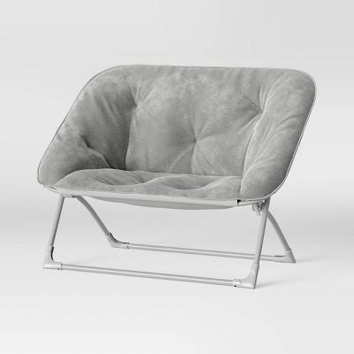 Folding Dish Loveseat Chair - Pillowfort™