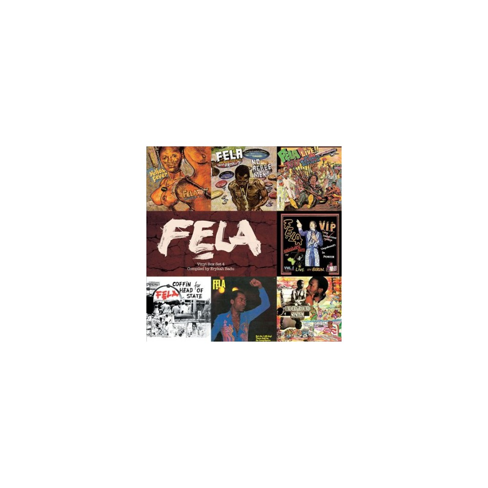 Fela Kuti - Vinyl Box Set 4 Compiled By Erykah Ba