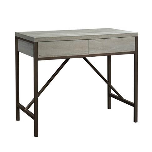 Awe Inspiring Manhattan Gate Work Table Mystic Oak Sauder Ncnpc Chair Design For Home Ncnpcorg
