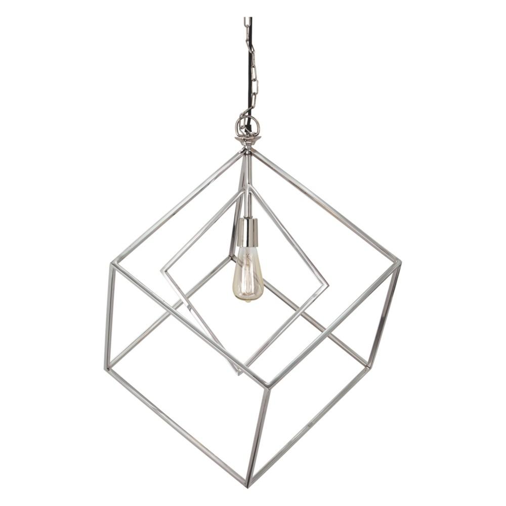 Neysa Metal Pendant Light Silver - Signature Design by Ashley
