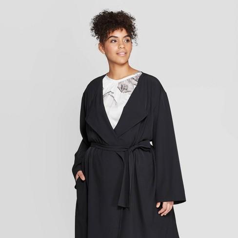 4240d2a26b747d Women s Plus Size Long Sleeve Open-Front Over Coat - Prologue™ Cream    Target