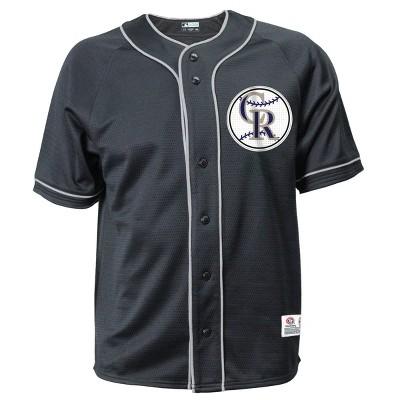MLB Colorado Rockies Men's Button-Down Jersey