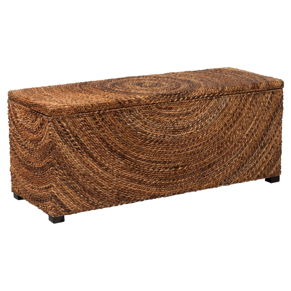 Chambers Abaca Storage Benches - Brown - East At Main