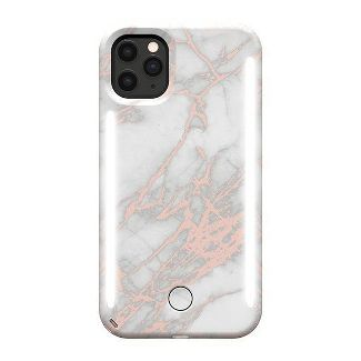 LuMee Apple iPhone 11 Pro Max/XS Max - Rose Gold Marble