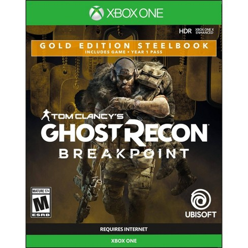 Tom Clancy's Ghost Recon: Breakpoint Gold Edition Steel Book - Xbox One - image 1 of 4