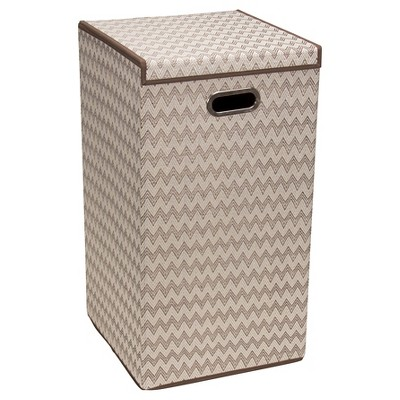 Household Essentials® Folding Single Hamper - Brown