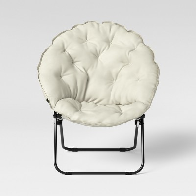 Extralarge Dish Chair Ivory - Room Essentials™