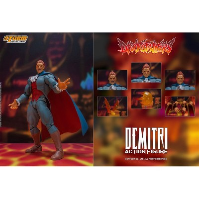 Storm Collectibles Darkstalkers Demitri Maximoff 1/12 Scale Action Figure