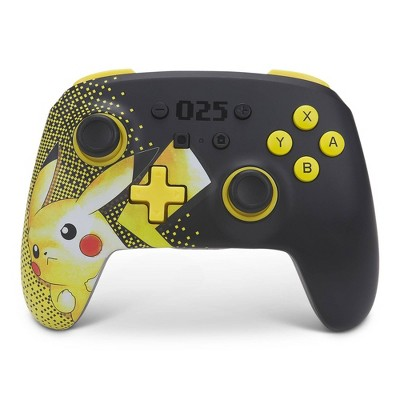 PowerA Enhanced Wireless Controller for Nintendo Switch - Pikachu 025