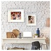 """11"""" x 14"""" Matted Wood Frame White - Room Essentials™ - image 3 of 4"""