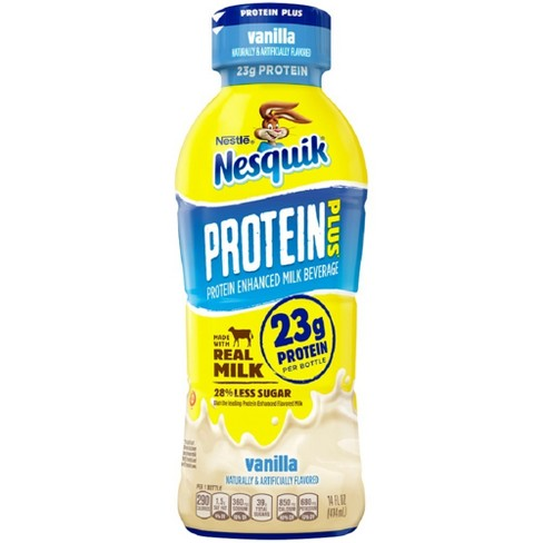 Nesquik Vanilla Protein Enhanced Milk - 14 fl oz - image 1 of 1
