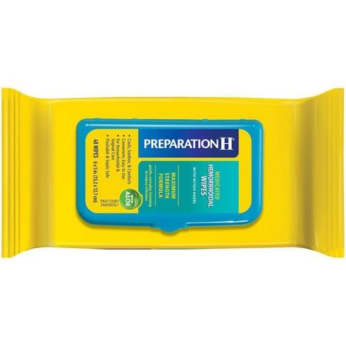 Preparation H Maximum Strength formula Medicated Wipes - 48ct - image 1 of 3