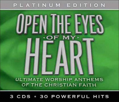 Various Artists - Open The Eyes Of My Heart: Ultimate Worship Anthems Of The Christian Faith (CD) - image 1 of 1