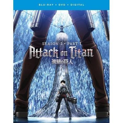Attack on Titan: Season 3, Part 1 (Blu-ray + DVD + Digital)
