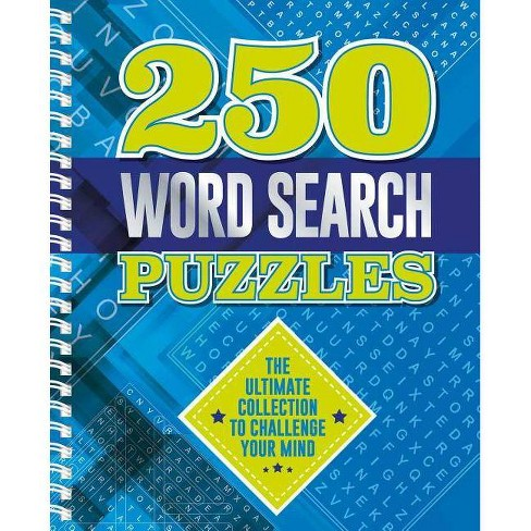 250 Word Search Puzzles - by  Igloo Books (Spiral_bound) - image 1 of 1
