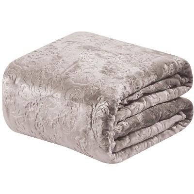 Sheridan Ultra Cozy Versailles Embossed Jacquard Blanket