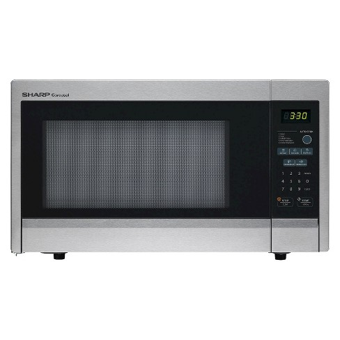 Sharp Carousel 1.1 Cu. Ft. 1000W Countertop Microwave Oven - image 1 of 1