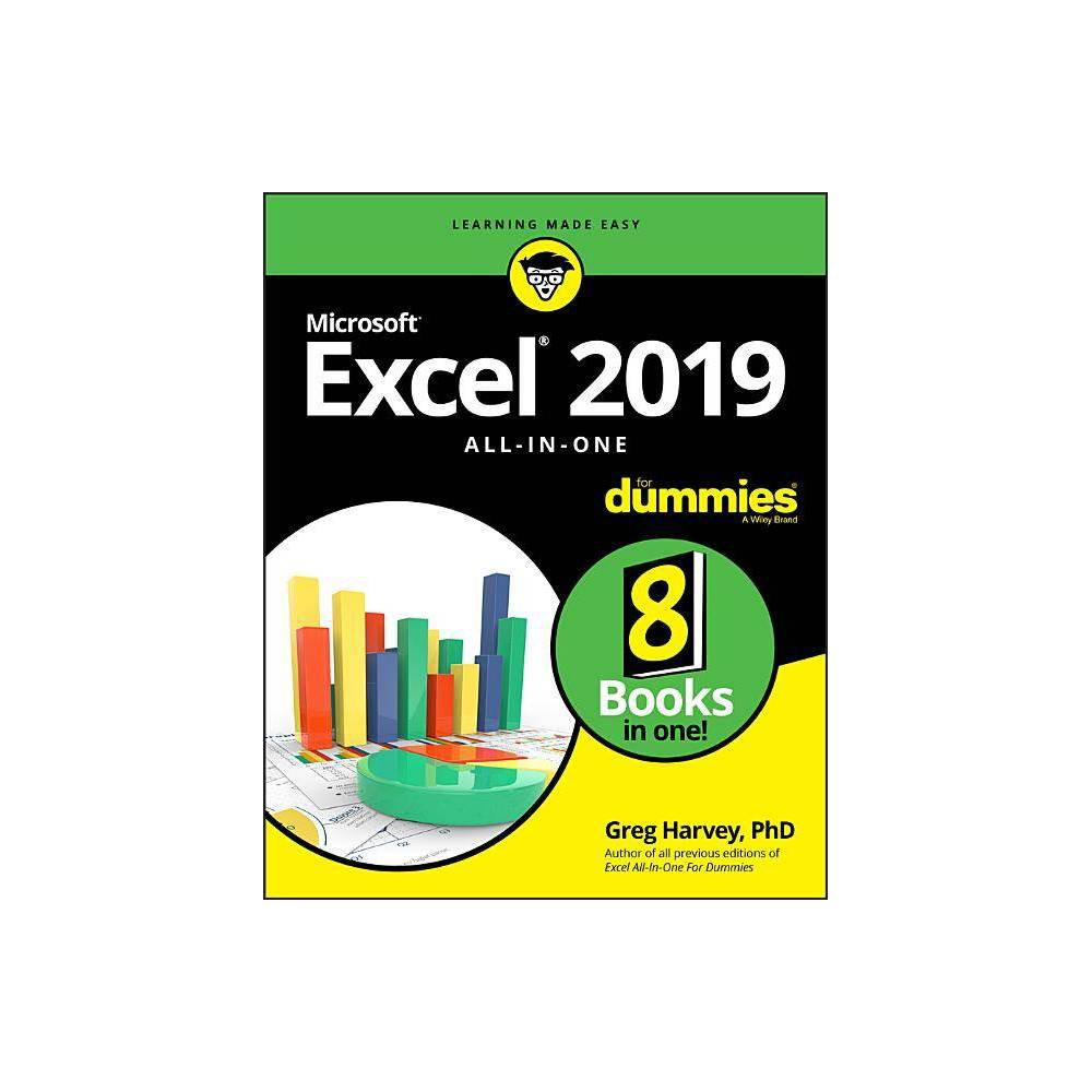Excel 2019 All In One For Dummies By Greg Harvey Paperback