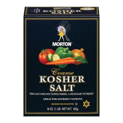 Salt: Morton Kosher