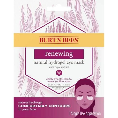 Burt's Bees Renew Natural Hydrogel Eye Mask - 1ct - image 1 of 4