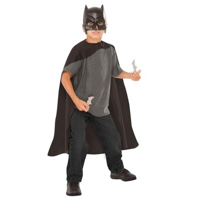 Imagine Child Batman Mask Cape and Batarangs Costume Set