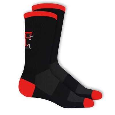 NCAA Texas Tech Red Raiders Big Game Crew Socks 10-13