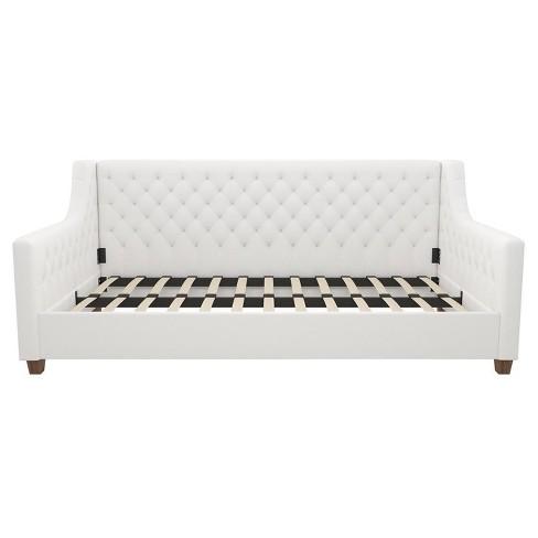 Swell Jayden Upholstered Daybed White Room Joy Cjindustries Chair Design For Home Cjindustriesco