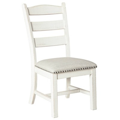 Set of 2 Valebeck Dining Room Chair White - Signature Design by Ashley