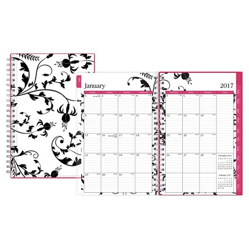 "2017 Analeis Weekly/Monthly Planner (5""x8"") - Blue Sky - image 1 of 8"