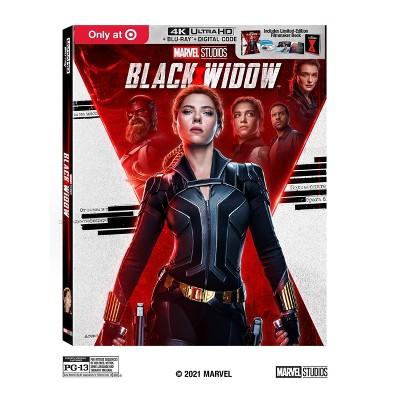 Black Widow (Target Exclusive)(4K/UHD + Blu-ray + Digital)