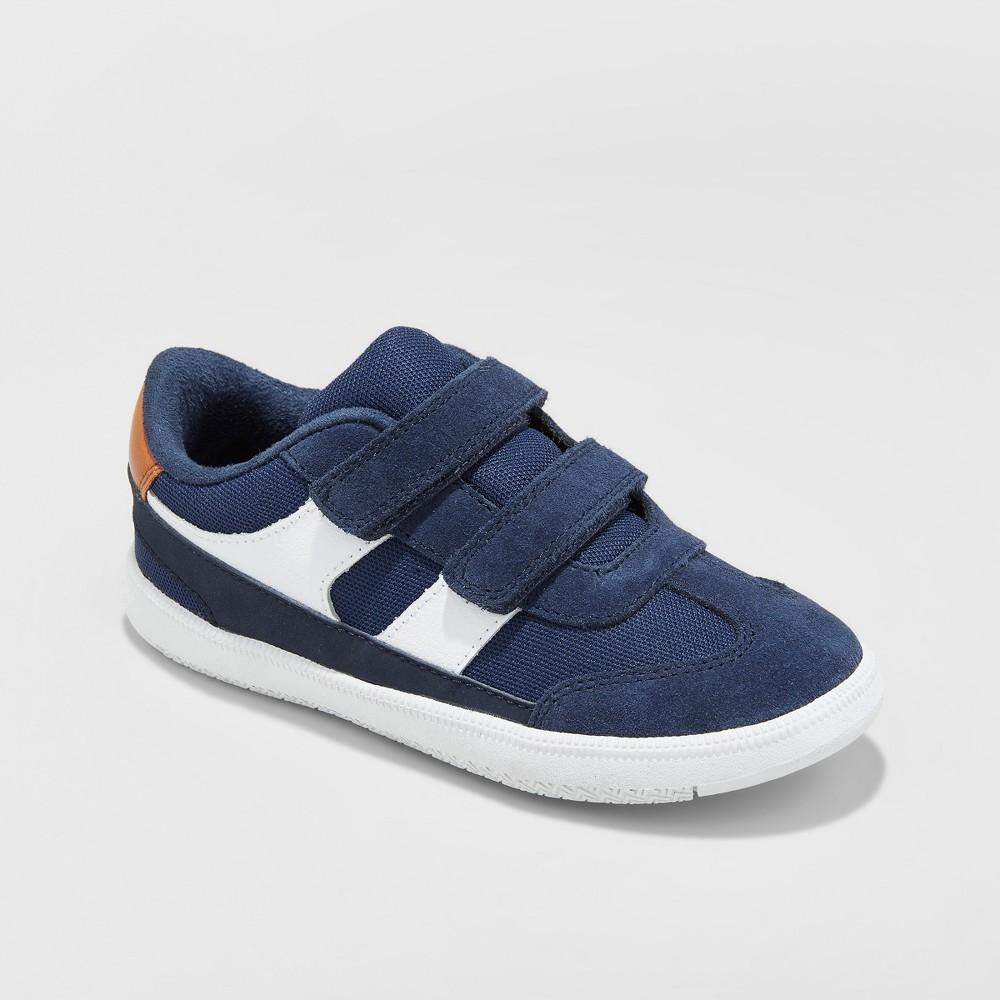 Toddler Boys' Casey Suede Sneakers - Cat & Jack Navy (Blue) 12