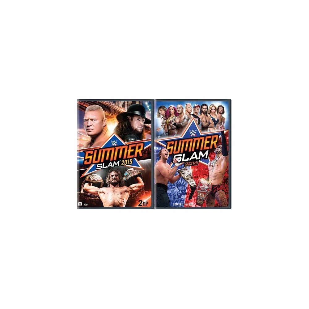Wwe: SummerSlam 2015 / Wwe: SummerSlam 2016 2pk (Dvd)