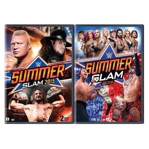 wwe summerslam 2015 wwe summerslam 2016 2pk dvd target