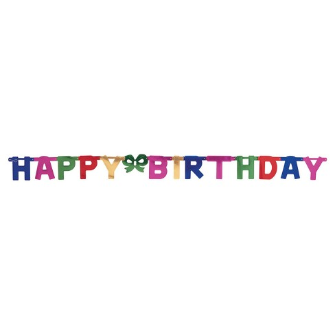 Large Happy Birthday Party Banner Target
