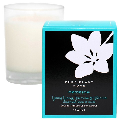 Glass Candle Box Vanilla - Pure Plant Home® - image 1 of 1