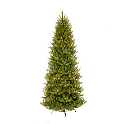 7.5ft Pre Lit Artificial Christmas Tree Forest Fir   Puleo
