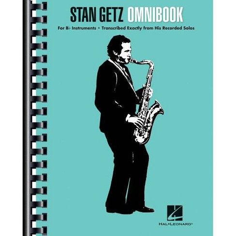 Stan Getz - Omnibook - (Paperback) - image 1 of 1