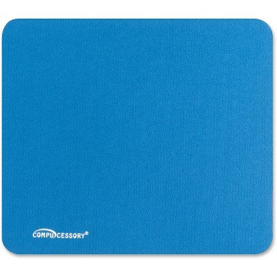 """Compucessory Economy Mouse Pad Nonskid Rubber Base 9-1/2""""x8-1/2"""" Blue 23605"""