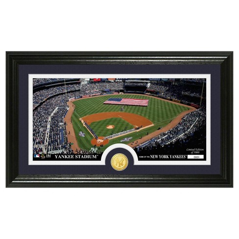 MLB New York Yankees Minted Coin Panoramic Photo Mint - image 1 of 1