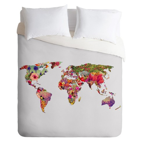 Its Your World Lightweight Duvet Cover - Deny Designs® - image 1 of 2
