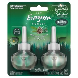 Glade Piso Refills - Icy Evergreen Forest - 2ct