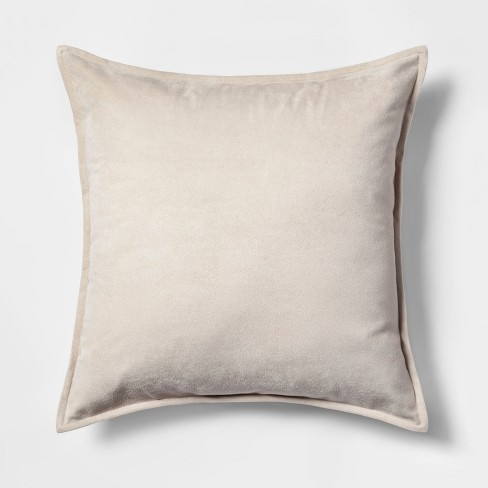 Faux Suede Throw Pillow - Project 62™ - image 1 of 2