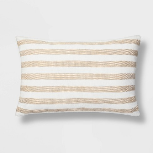 Woven Stripe Pillow - Threshold™ - image 1 of 3