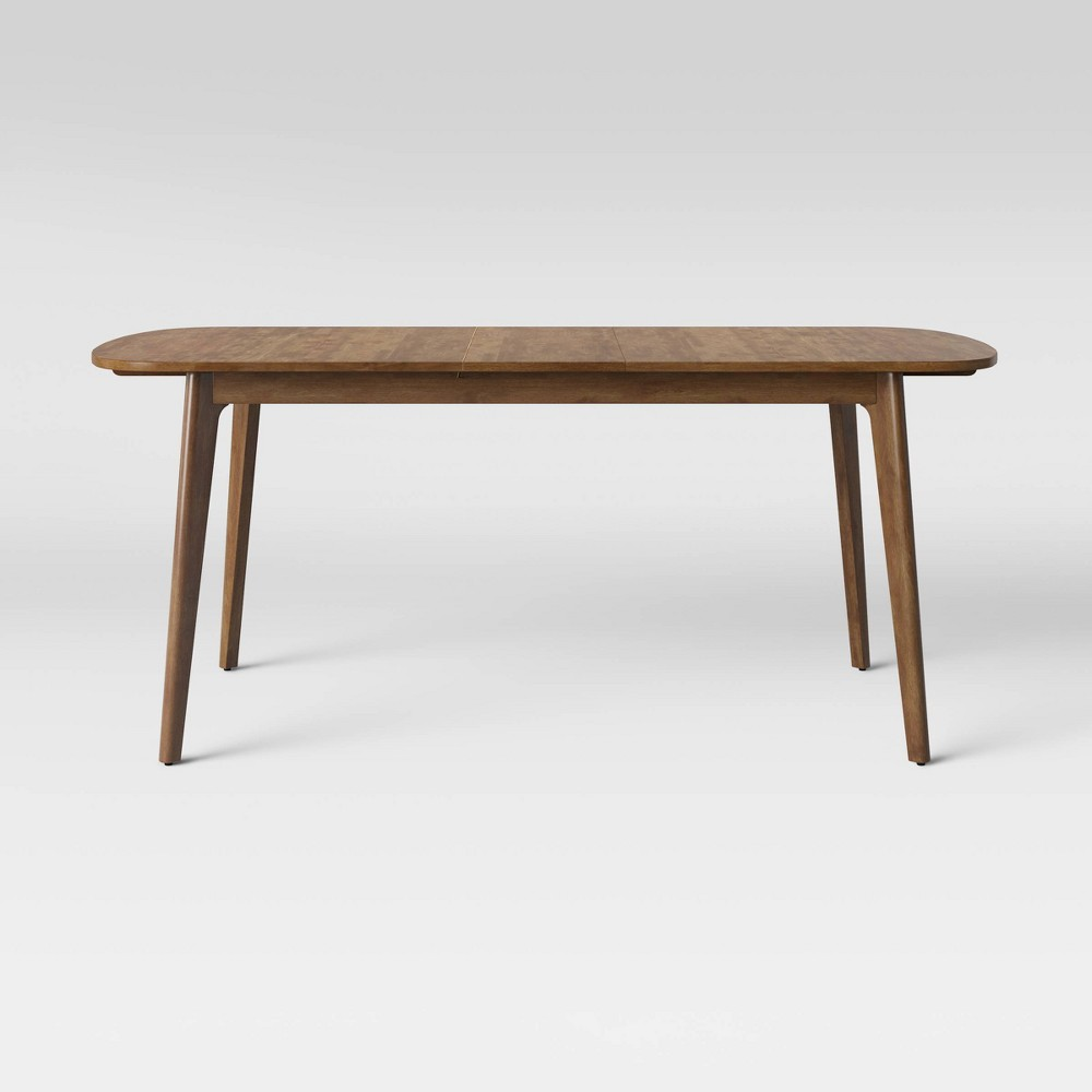 Astrid Mid Century Dining Table with Extension Leaf Brown - Project 62 was $329.99 now $164.99 (50.0% off)